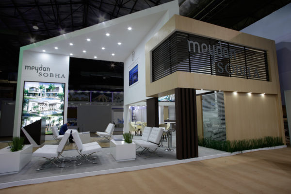 Event productions – Meydan Sobha stand on Dubai Property Show Mumbai