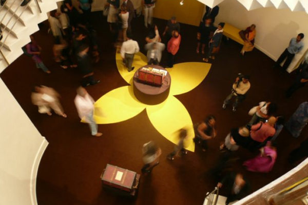 Event productions – Louis Vuitton exhibition in NGMA Mumbai for Bonjour India festival